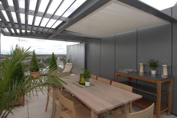 Dachterrasse Sonnenschutz