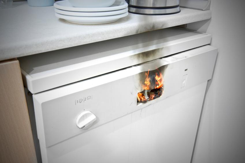 Brandgefahr Bei Der Spulmaschine Welche Sind Gefahrdet