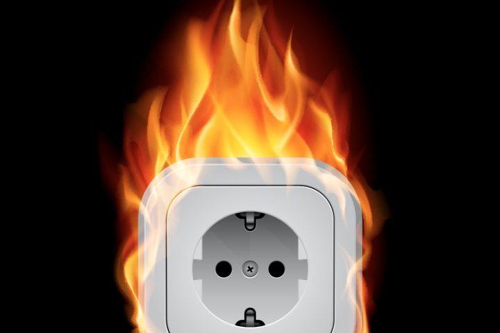 Spülmaschine brennt