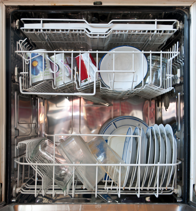 spülmaschine wird zu heiß
