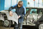 Spachteln Auto