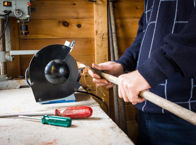 Turbo Spalthammer schärfen » So gehen Sie vor GZ09