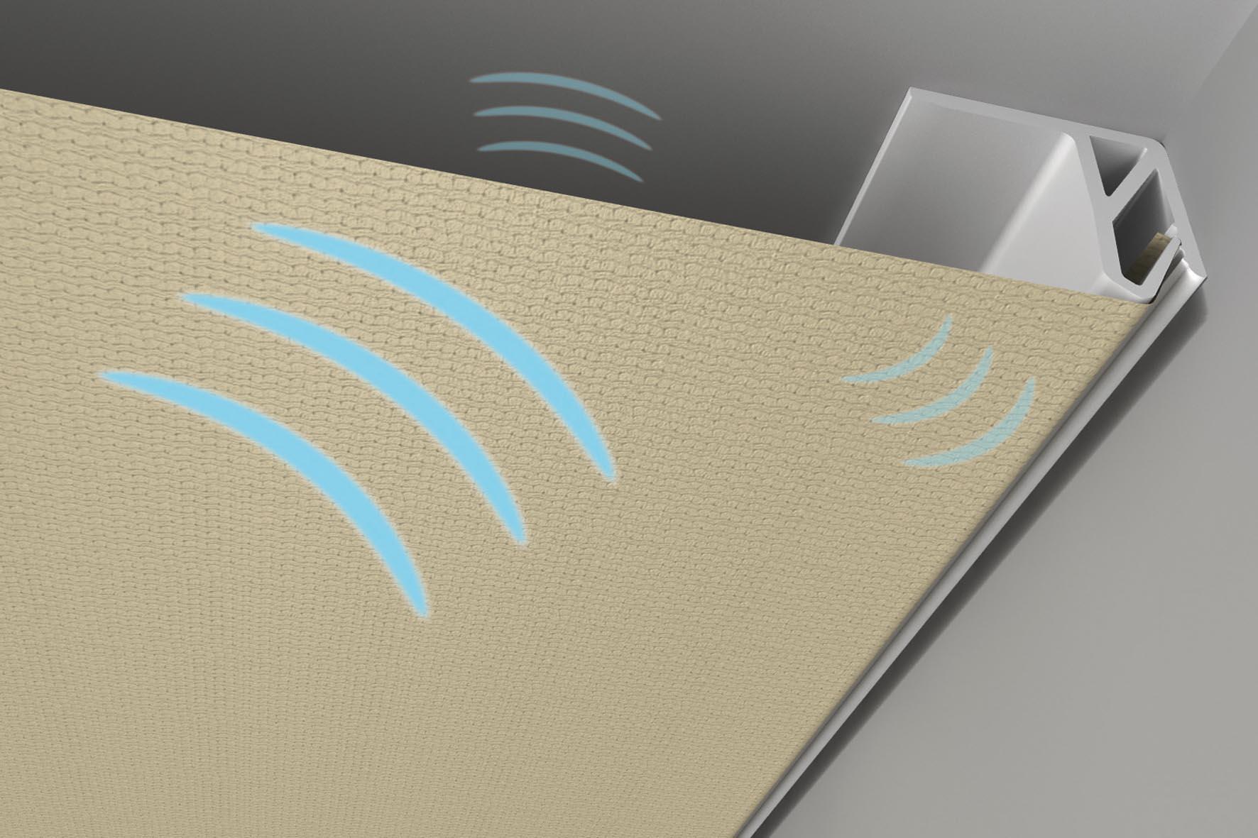 Spanndecken verbessern die akustischen Verhältnisse in den eigenen vier Wänden