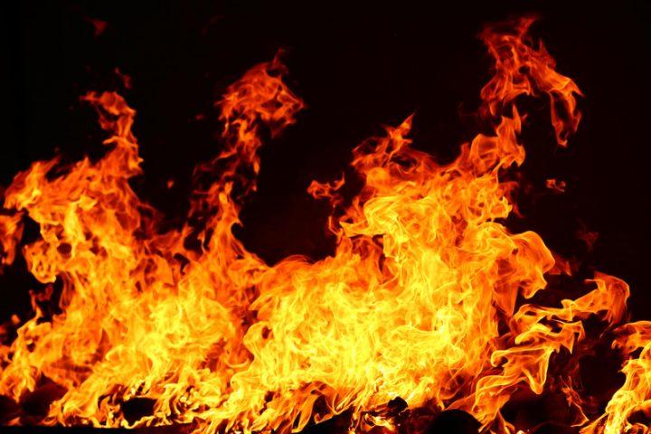 Spanplatten verbrennen