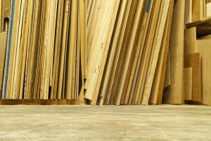 Sperrholz biegen