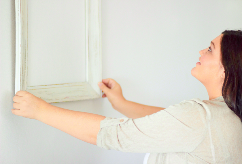 Spiegel gestalten saisonabh ngig - Spiegel aufhangen ohne bohren ...