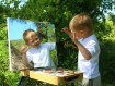 Spiegel anmalen