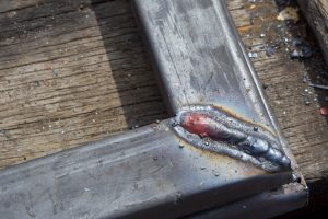 Gelöteter Stahl