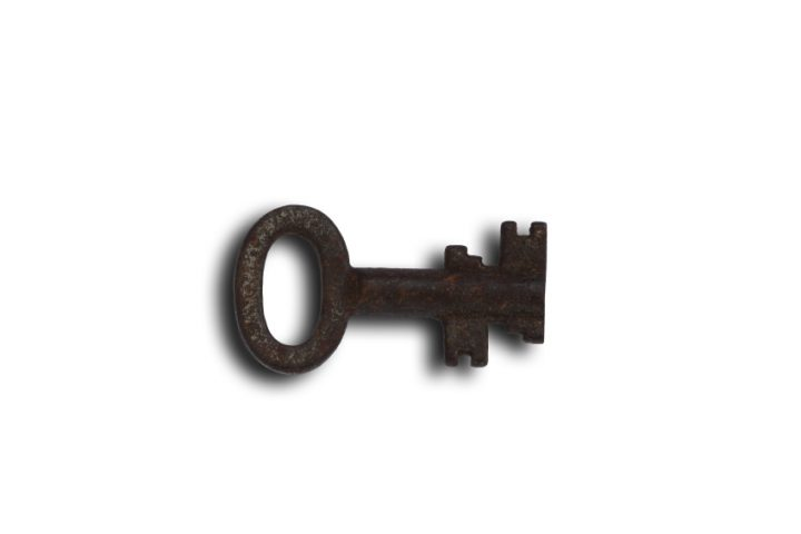 Stahl Schlüssel Rost