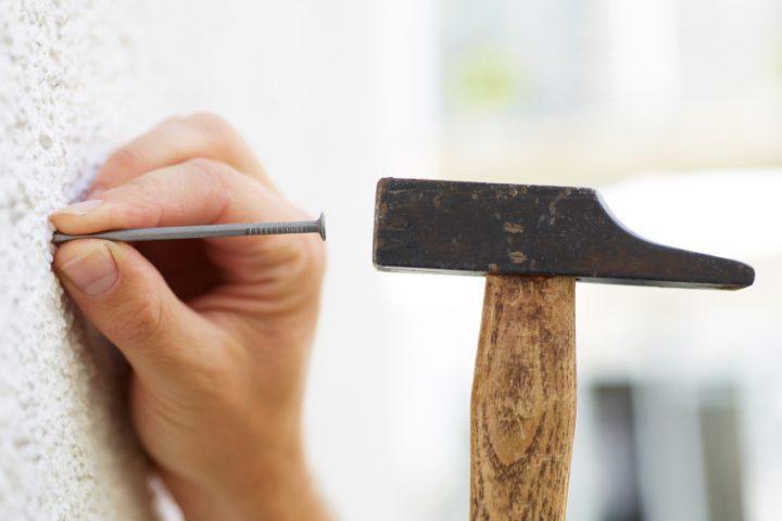 Stahlbeton nageln