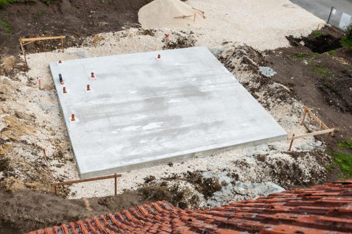 Stahlfaserbeton Bodenplatte