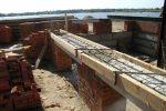 Stahlträger ausmauern