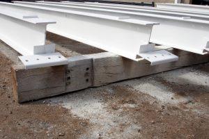 Stahlträger Grundierung