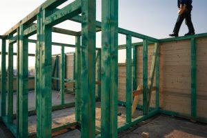 Stahlträger Holzverkleidung