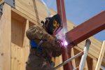 Stahlträger Schweißer