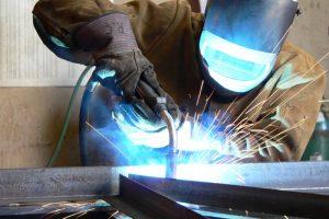 Stahlträger schweißen