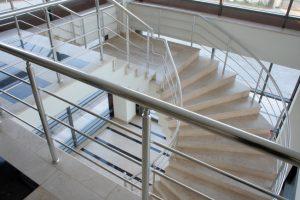Stahltreppenkonstruktion
