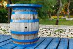 Stehtisch aus Bierfass bauen