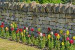 Natursteinmauer Sichtschutz