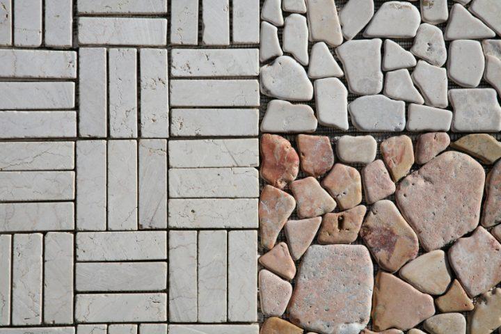 Steinteppich reparieren