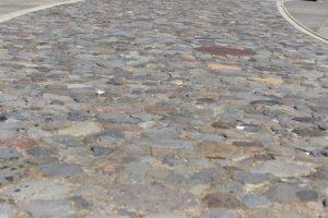 Steinteppich wegmachen