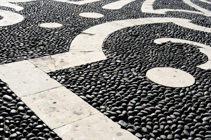 Steinteppich selbst verlegen