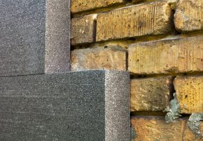 Styropor steinwand