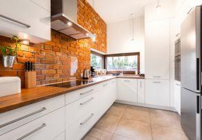 Steinoptik in Küche