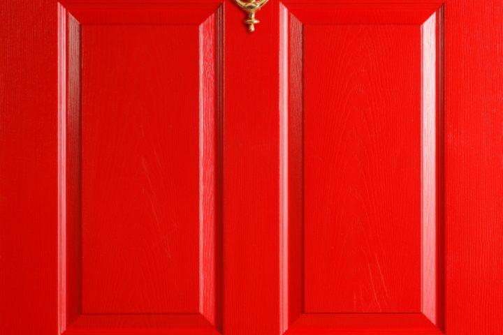 Tür spachteln