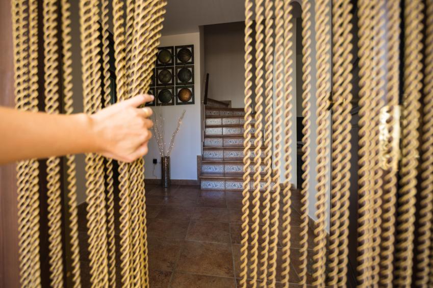 T rvorhang selber machen sch ne ideen tipps tricks for Como hacer una cortina para exterior