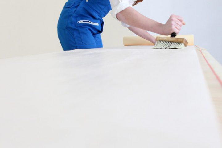 Tapezieren auf Styropor