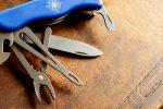 Taschenmesser pflegen Öl