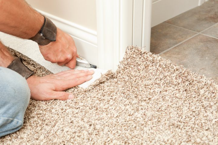 Teppich verlegen  Teppich auf Fliesen verlegen » Das sollten Sie beachten