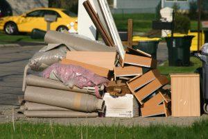 Teppich Müll