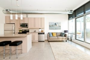 Teppich in der Küche verlegen
