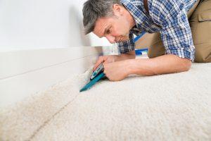 Teppich schneiden