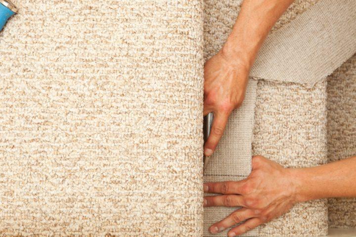 Teppich entfernen Treppenstufen
