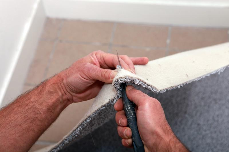 Teppich Zuschneiden
