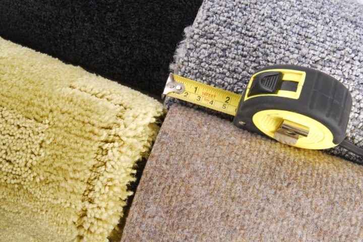 Teppich Quadrate schneiden