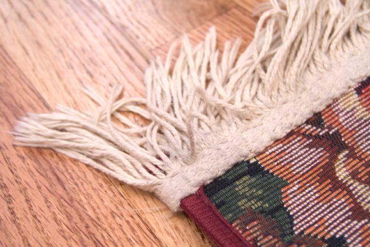 Teppichfransen Reinigung
