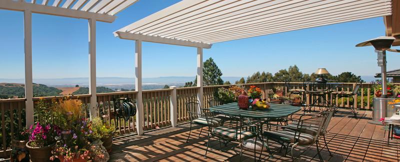 terrasse so erzeugen sie gef lle. Black Bedroom Furniture Sets. Home Design Ideas