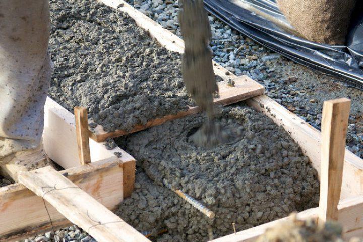 Terrasse betonieren