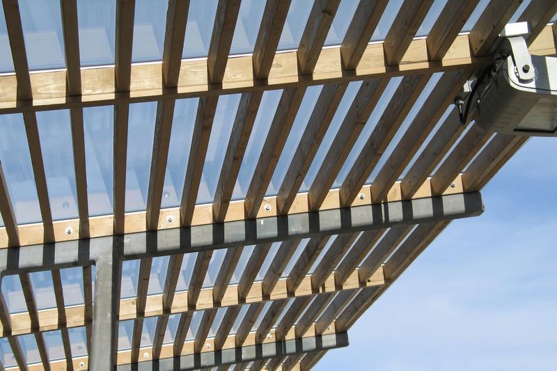 Bauanleitung für die Terrassenüberdachung