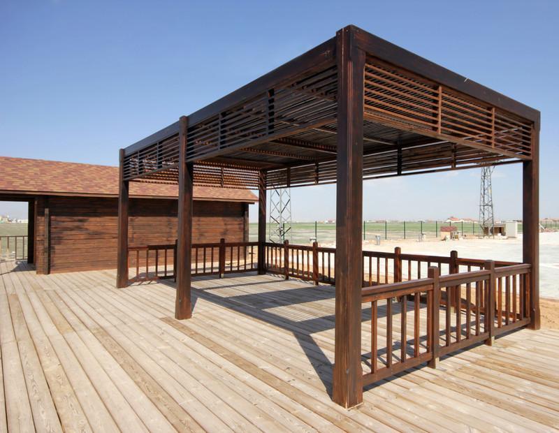 Baugenehmigung für die Terrassenüberdachung?