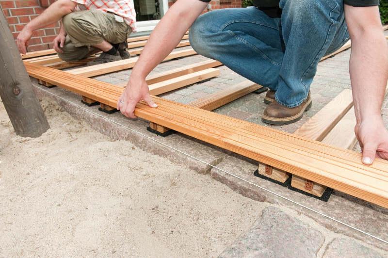 Terrassendielen Unterkonstruktion Selber Bauen 4 Schritt Anleitung