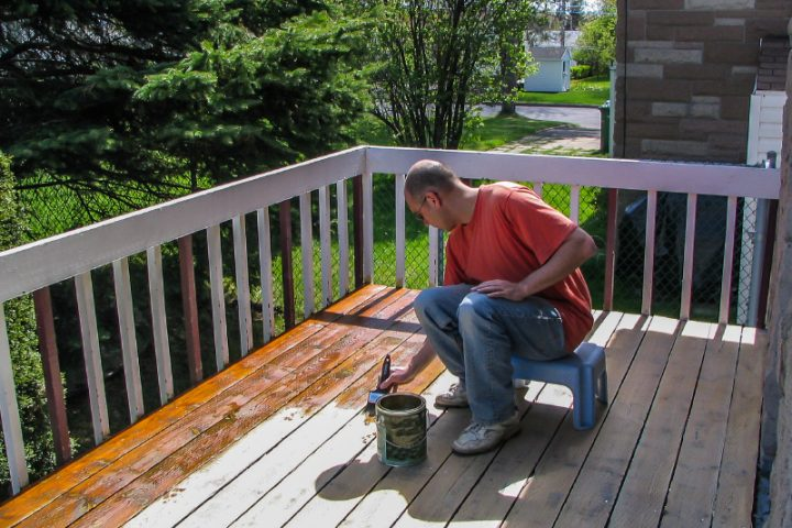 Gebeiztes Holz Versiegeln By Terrassenboden Verlegen Qg01 Hitoiro