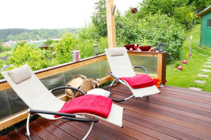 Terrassenholz reinigen