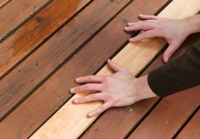 terrassenholz verlegen anleitung in 3 schritten. Black Bedroom Furniture Sets. Home Design Ideas