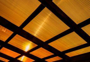 Überdachung Doppelstegplatten oder Glas