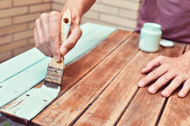 Tisch Streichen » Welche Farbe Eignet Sich Am Besten?